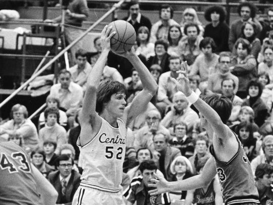 Jeff Tropf, a former Holt basketball standout, is part