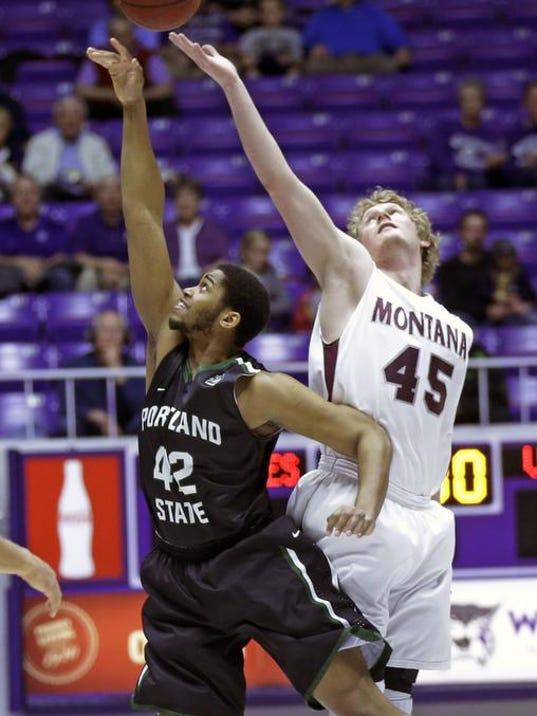 BSKy Montana Portland St Basketball