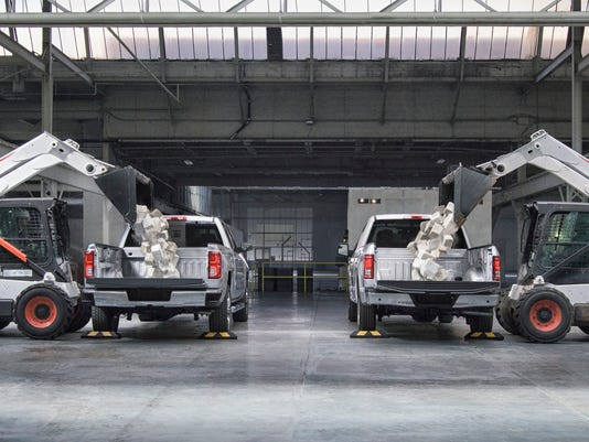 Comparison test between Chevrolet Silverado and Ford F-150
