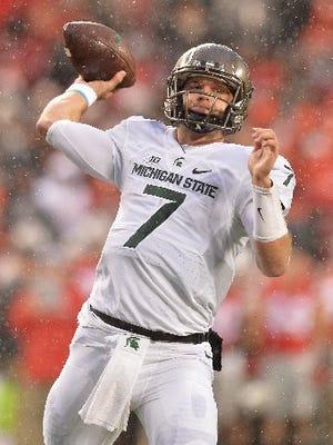 Michigan State quarterback Tyler O'Connor got his time to shine Saturday at Ohio State.