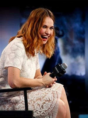 Actress Lily James is having a blast playing retro roles in 'War & Peace' and 'Pride and Prejudice and Zombies.'