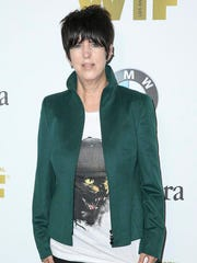"FILE - This June 15, 2016 file photo shows Diane Warren at the Women In Film 2016 Crystal And Lucy Awards in Beverly Hills, Calif. More and more, artists are giving credit to past songs in the wake of the infamous ""Blurred Lines"" case, where Robin Thicke and Pharrell were ordered to pay $5.3 million last year to Marvin Gaye's children after a judge said ""Blurred Lines"" copied their father's hit ""Got to Give It Up."" Warren doesn't agree with the decision because while she said the production was similar, the song wasn't the same as Gaye's ""Got to Give It Up."""