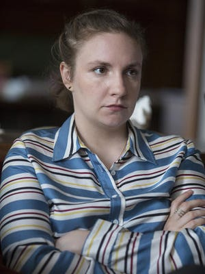 """This image released by HBO shows Lena Dunham in a scene from """"Girls.""""  The sixth and final season premieres Sunday at 10 p.m. EST on HBO."""