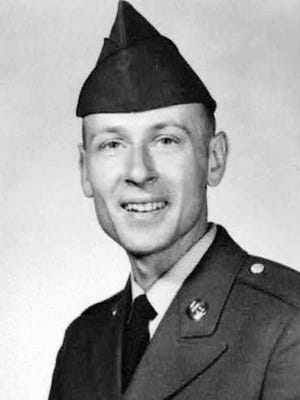 Private First Class Donald Gise, in 1968.