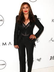 Tina Knowles attends Variety's Power of Women: New York Presented by Lifetime, at Cipriani Midtown on Friday, April 21, 2017, in New York.