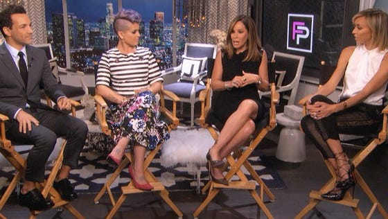 Melissa Rivers visited the set of her late mother Joan Rivers' hit series 'Fashion Police'