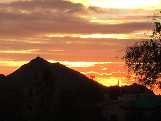 You can't beat an El Paso sunsets no matter what part