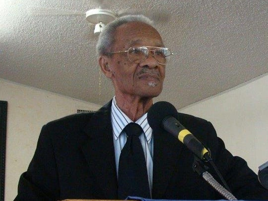 The Rev. J.C. White, pastor of Bethlehem Mission Baptist