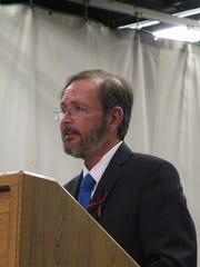 Estill County Judge Executive  Wallace Taylor at a