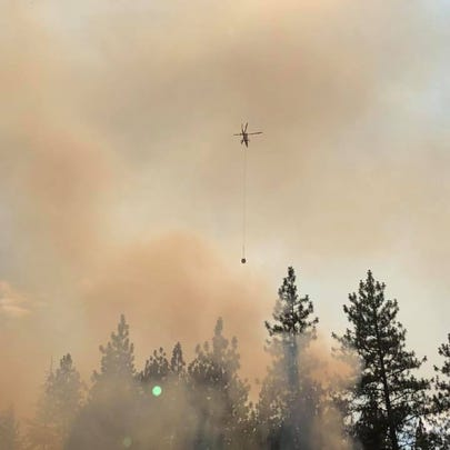 Fire teams are fighting a number of wildfires in southwest