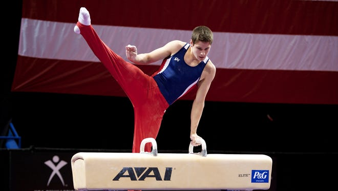 Alec Yoder, 17, of Indianapolis, has been selected for the Youth Olympic Games.