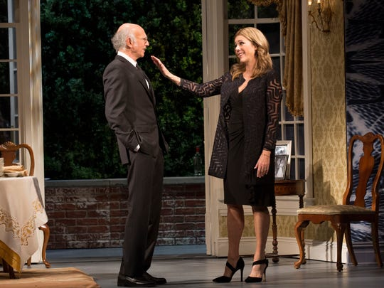 Larry David and Rita Wilson play husband and wife in