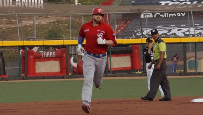 Former Merritt Island High standout Dustin Geiger is playing for the Durango Generales in Mexico.