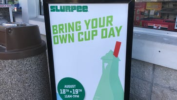 Prepare for serious brain freeze with with 7-Eleven's Bring Your Own Cup Days