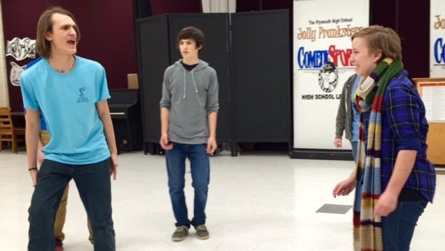 Plymouth High School's Jolly Pranksters are the only school in the county to be represented at the upcoming ComedySportz High School League, an improv comedy competition in Milwaukee.