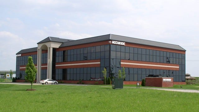 Accuride Headquarters in Evansville.