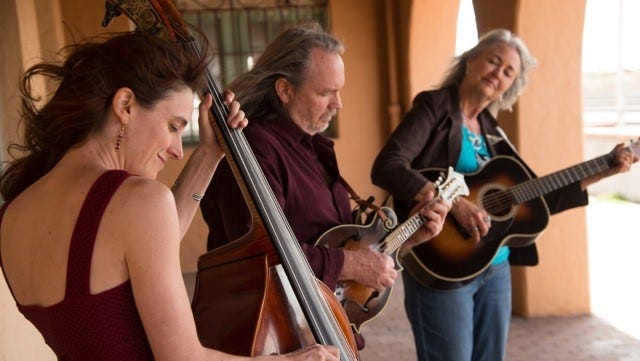 The Hard Road Trio will kick off the Spring 2017 Concert Series at the Silver City Public Library at 6 p.m. on Friday, Jan. 6.