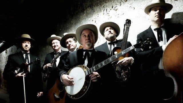 Bluegrass super group the Earls of Leicester featuring Jerry Douglas will perform in a free outdoor concert in Muncie on Aug. 4.