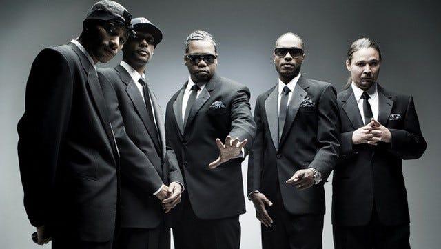 Bone Thugs-n-Harmony will headline a concert June 14 at Lafayette Theater.