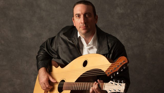 Andrew Kasab will play his harp guitar at 5 p.m. July 21 at The Store in Staunton.