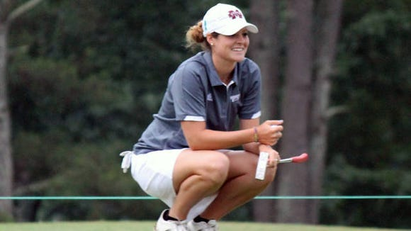 Mississippi State's Ally McDonald looks to make the cut during Friday's women's US Open.