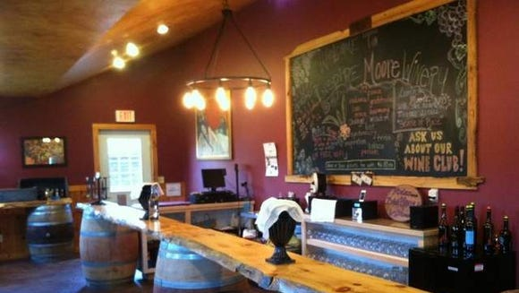 Inspire Moore tasting room in Wayne