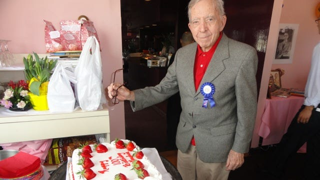 Gardner Watts of Suffern celebrated his 100th birthday with friends and family this month.