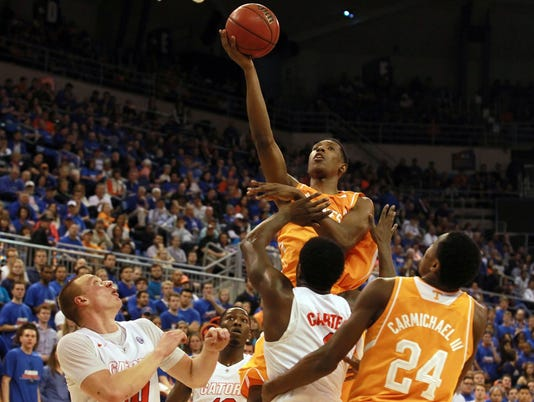 NCAA Basketball: Tennessee at Florida