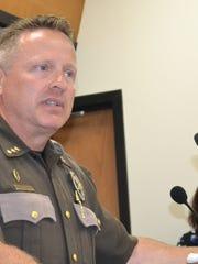 Mason County Sheriff Casey Salisbury