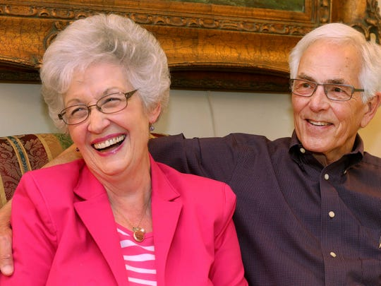 Frances Victory and John Oldham will tie the knot. The 80-somethings met by chance at church.