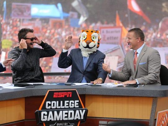 Clemson hosts ESPN College Gameday on Bowman Field