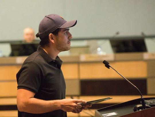 Gabriel Vasquez, the Southern New Mexico Outreach Coordinator