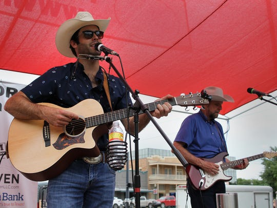 The Blan Scott Band performs at the Food Truck Championship of Texas Saturday, June 3, 2017, in Graham. Gypsy Kit was named the Grand Champion for the second time in the three year history of the championship.