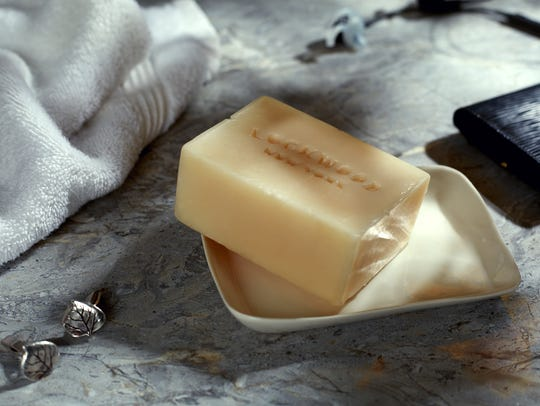 Lockwood soaps are made onsite at the Lockwood Farm.