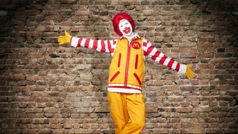 Check out Ronald McDonald's new threads!