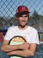 Miki Tiilikainen is on the varsity tennis team at Reno