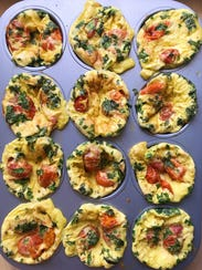 For Mother's Day, make mom mini frittatas