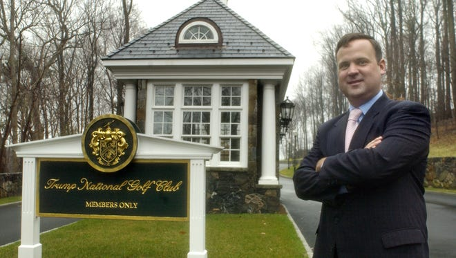 Hopewell Junction resident Dan Scavino, general manager of Trump National Golf Club, stands for a portrait Wednesday, December 13, 2006, at the club in Briarcliff Manor. Karl Rabe photo