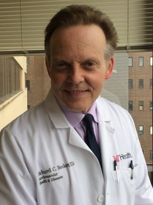 Dr. Richard Becker, head of UC Health's Heart and Vascular Institute, will be at a Saturday symposium at the METS Center in Erlanger.