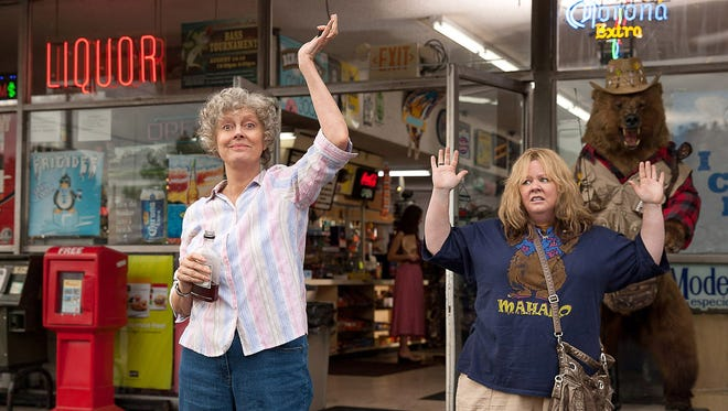 Susan Sarandon, left, as Pearl, and Melissa McCarthy as Tammy in 'Tammy.'