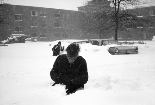 1967 (Day 2) : Worst Snowfall in Lansing's History?