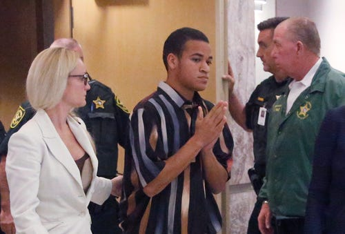 Zachary Cruz says he is being unfairly held for trespassing