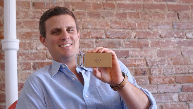 Dollar Shave Club CEO Michael Dubin, photographed at company headquarters in Venice Beach, CA.