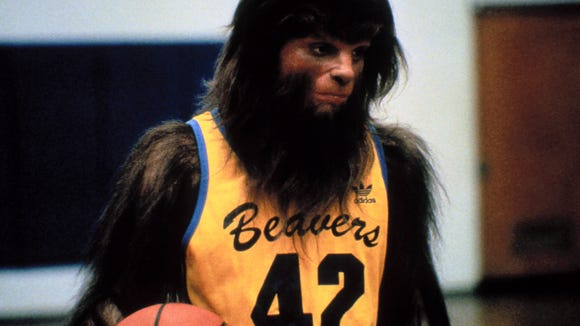 Michael J Fox Gets Hairy When Hooping It Up In Teen