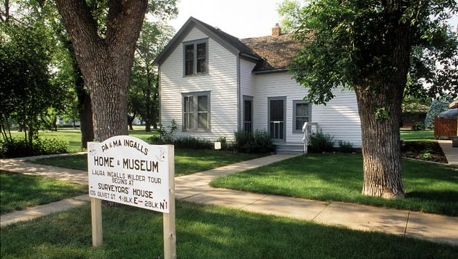 The home of Laura Ingalls Wilder's parents in De Smet, South Dakota.