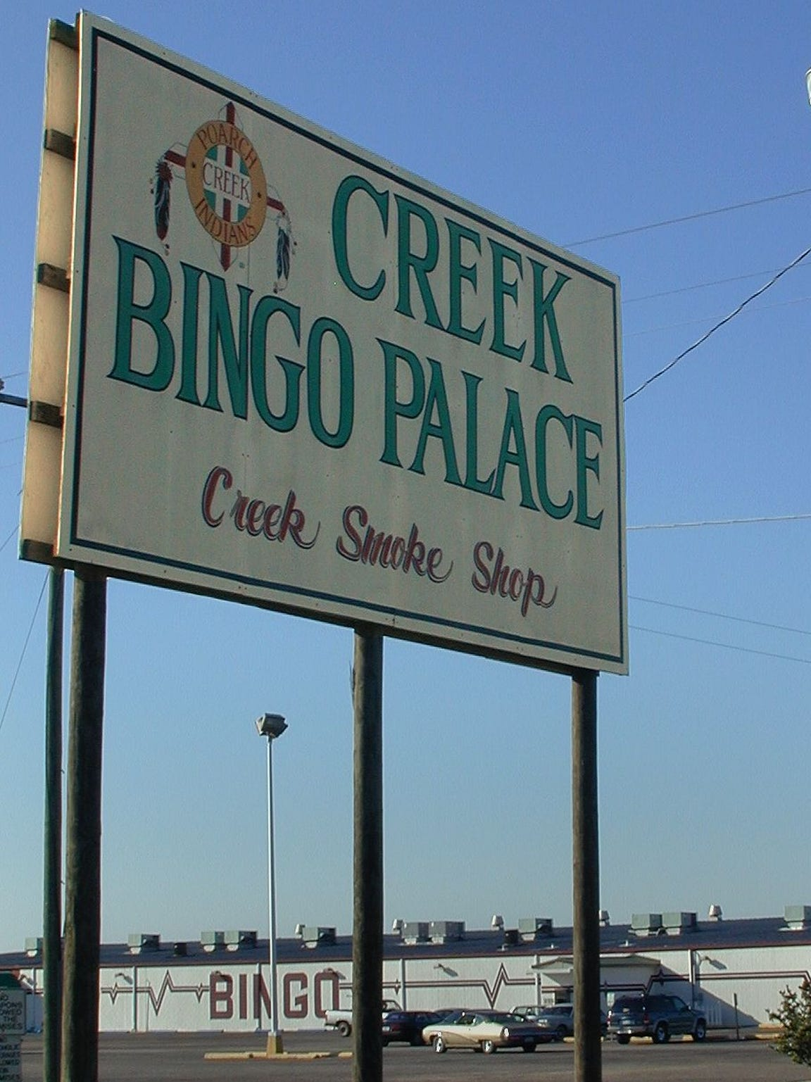 In 1983, the Poarch Creeks opened their first bingo