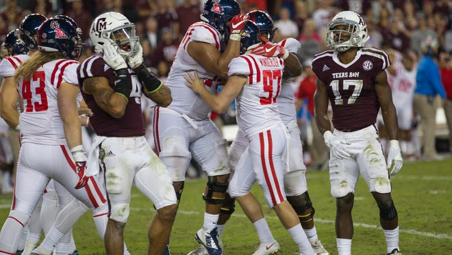 Ole Miss kicker Gary Wunderlich (97) has made 19 of his 20 field goals this season.