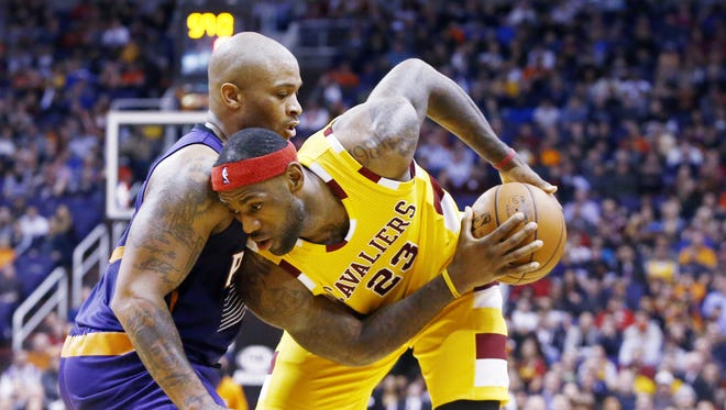 LeBron James and the Cavaliers come to Phoenix on Jan. 8, 2017.