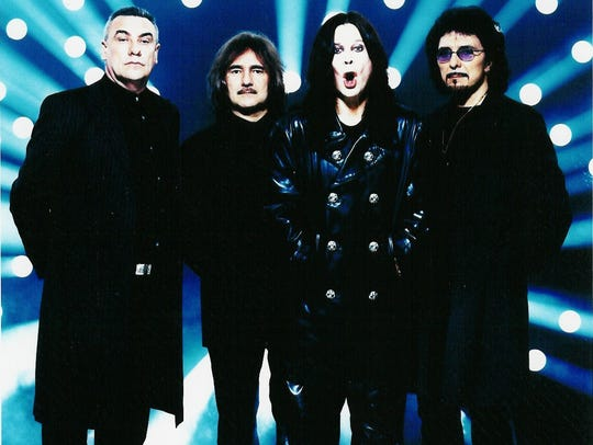 The founding members of Black Sabbath reunited in 1997.