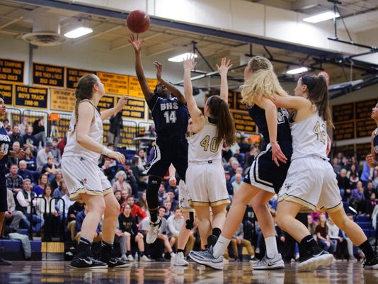 Burlington vs. Essex Girls Basketball 02/27/18